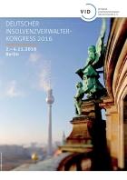 Deutscher Insolvenzverwalterkongress 2016- Programm