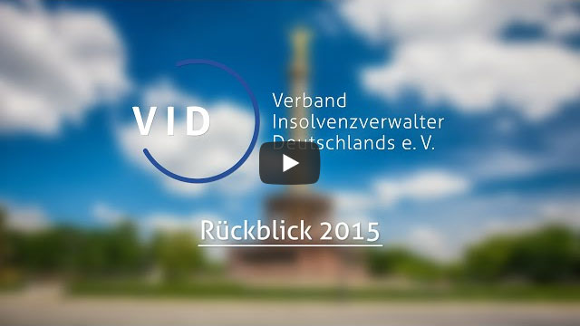 Screenshot Rückblick VID 2015